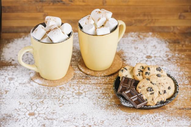 Piscine / Film et chocolat chaud