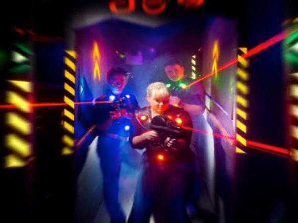 laser game + mac do