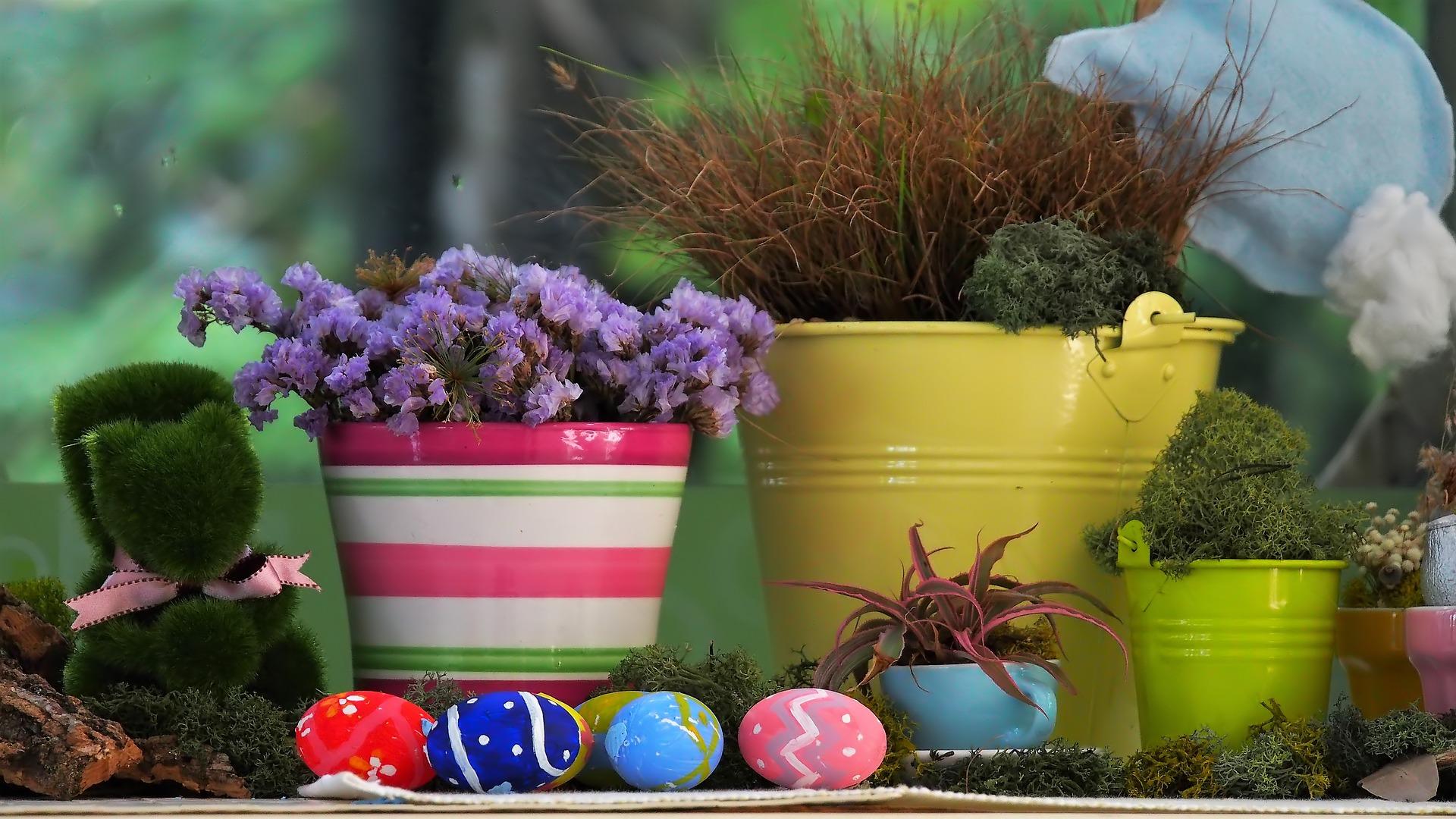 R.A.M : pots de fleurs