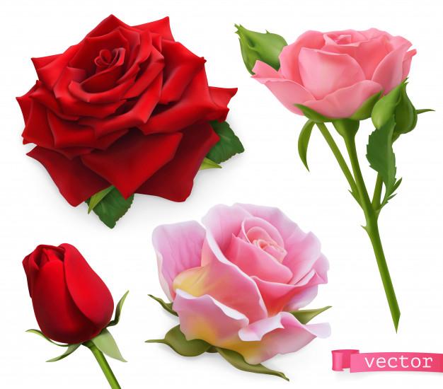 Peinture de fleurs en relief