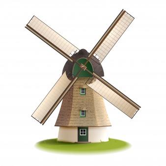 initiation vannerie ou création d'un moulin avant